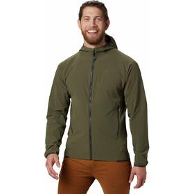 Mountain Hardwear Chockstone Veste à capuche Homme, dark army